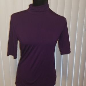 Lauren Ladies Purple Top Size M